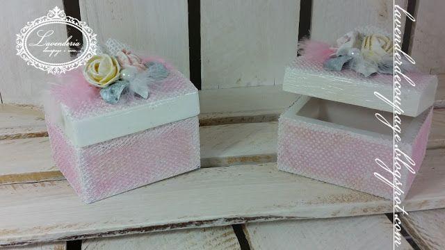 Lavenderia - decoupage i inne: Słodkie szkatułki