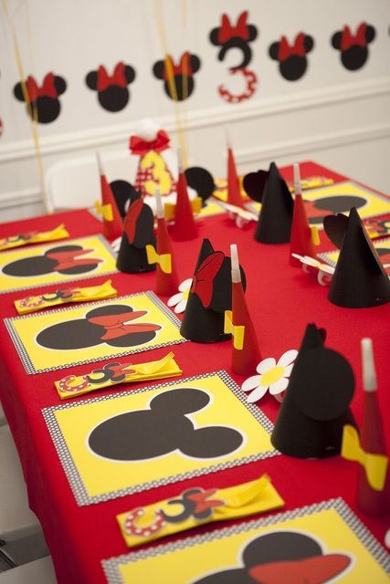 Incredible table at a Minnie Mouse party!  See more party ideas at CatchMyParty.com!  #partyideas #minniemouse