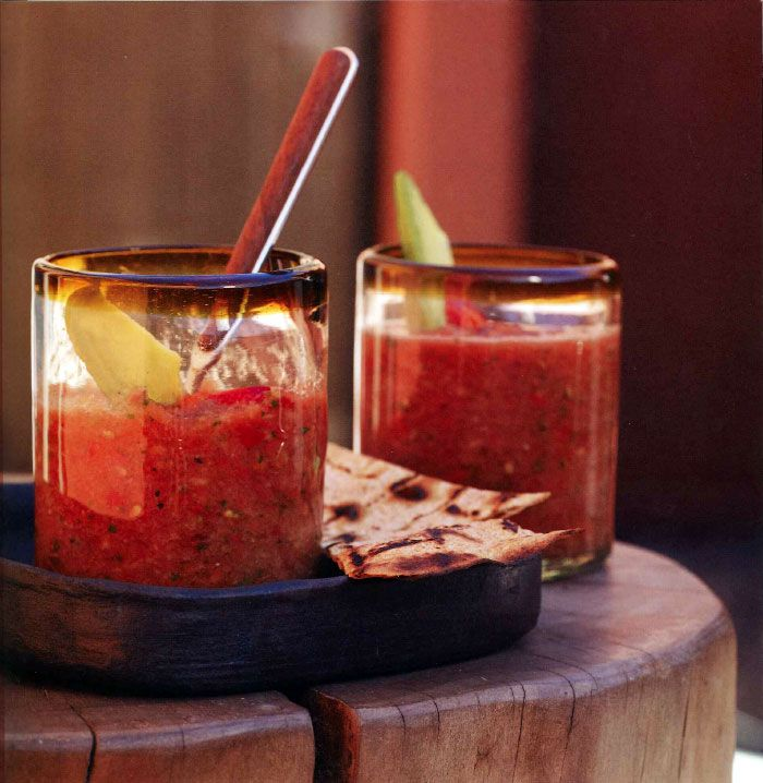 Cold Soup Classic: Mii amo's Tomato Gazpacho Recipe | Lose Weight Without Dieting