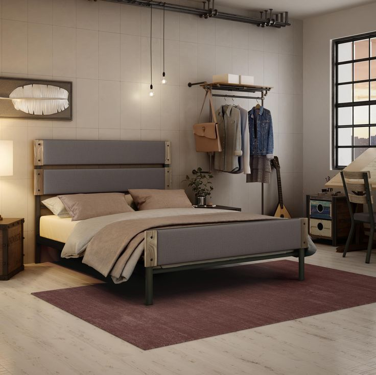 industrial bedroom furniture melbourne%0A AMISCO  Dunhill            Furniture  Bed  Industrial collection
