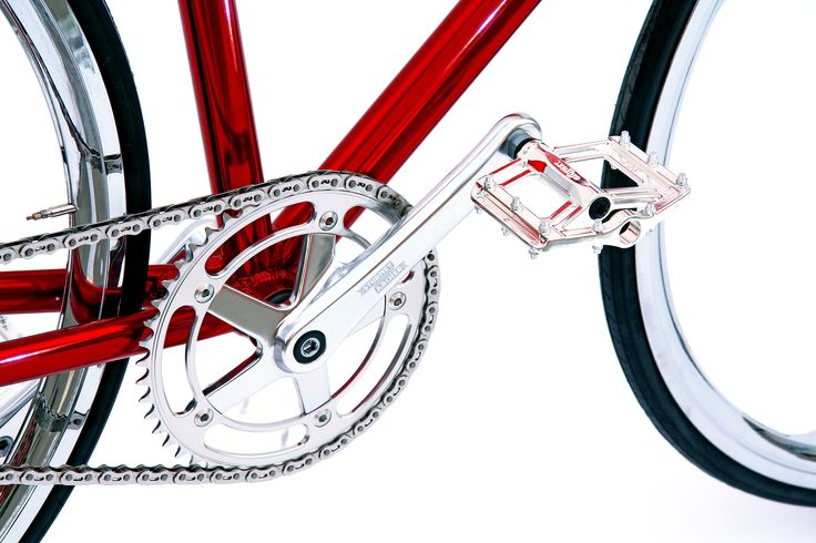 Dettaglio Bici BRN Cromovelata