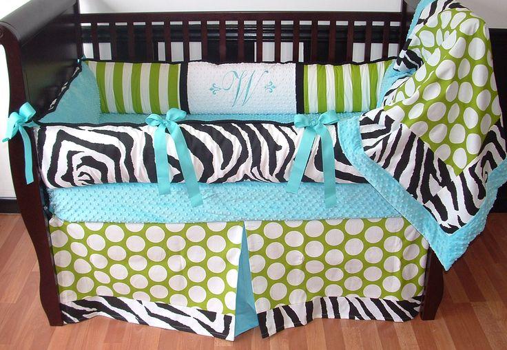 Wild Baby Bedding This Custom Crib Bedding Set Includes
