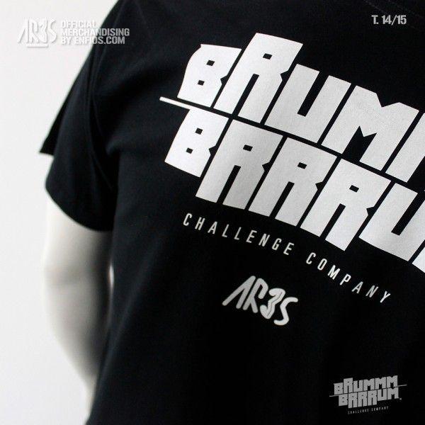 Camiseta Black ARES 14-15 (parte trasera)