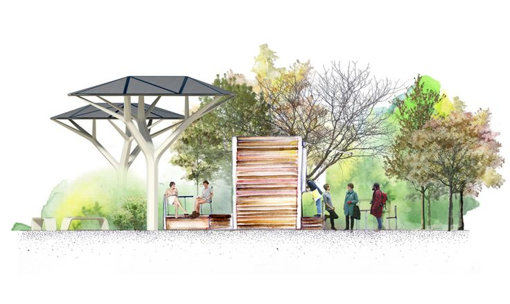 samuel wilkinson bases nature solar shelter on african acacia tree