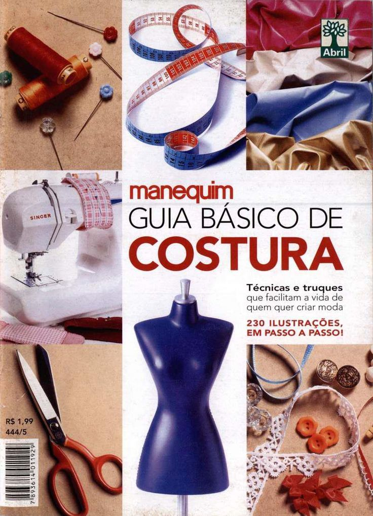 Guia basico de costura manequim by Nerea Esteban - issuu