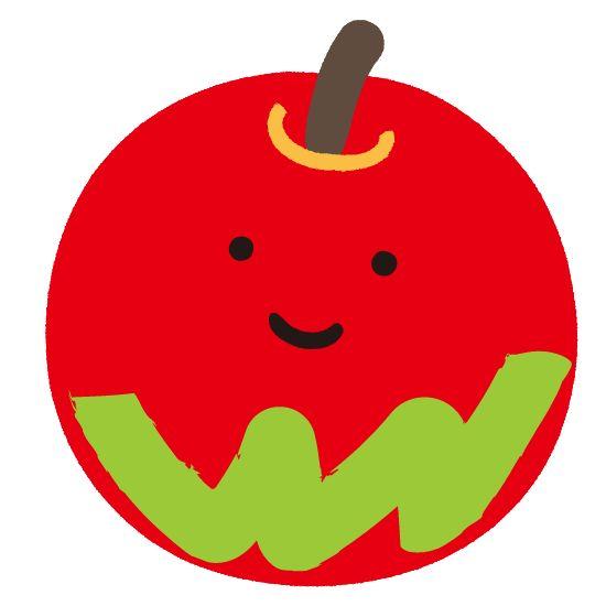 リンゴ イラスト