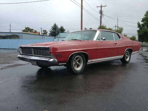 1968 ford galaxie 500 fastback 60 39 s classics pinterest. Cars Review. Best American Auto & Cars Review