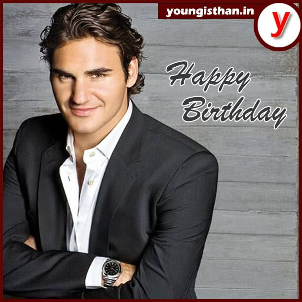 Youngisthan wishes Roger Federer  a rocking birthday!