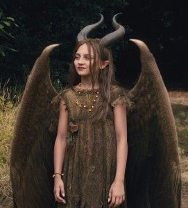 Young Malificent - I just watched the Malificent movie it was very well done there are always two sides to the story and even though what she did was wrong at least she showed guilt over it and ultimately became a good person. I love the design of her as a little girl
