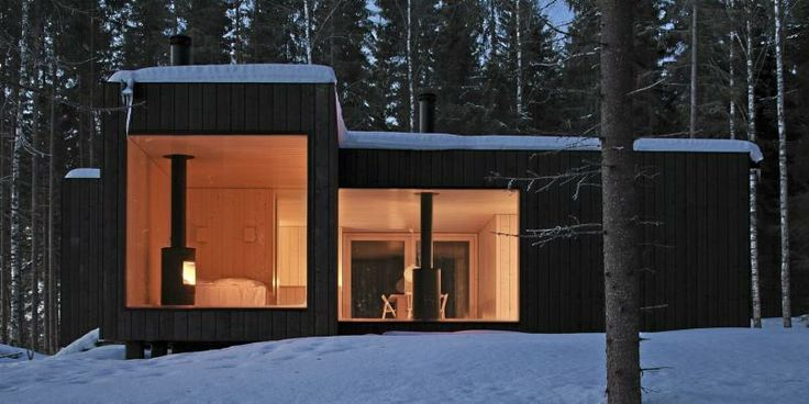 Four-cornered villa by Avanto Architects ,Ville Hara og Anu Puustinen