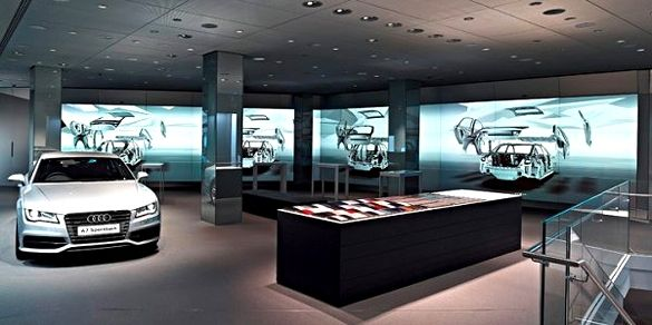 Audi launches world's first digital showroom in London.