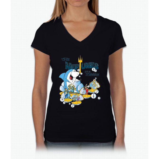 The Neptunes - Live in Hydrostan Womens V-Neck T-Shirt
