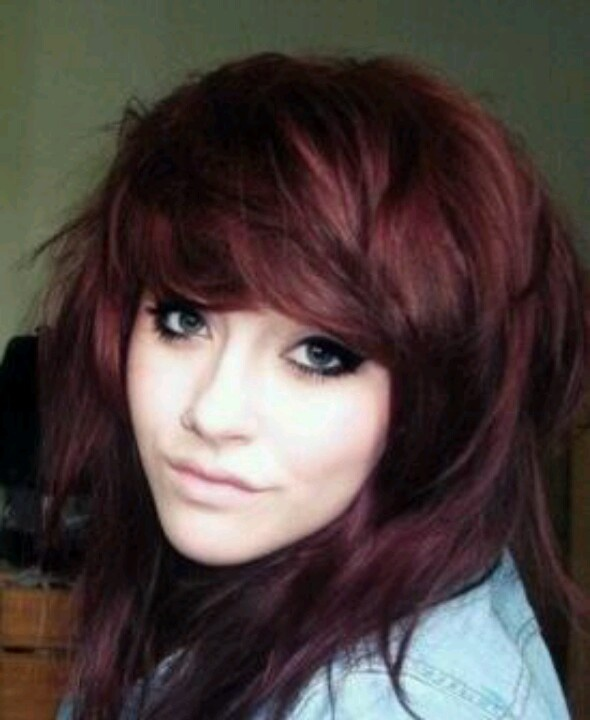 Burgundy Hair Color Like The Color Not The Cut  Hair  Pinterest  A Nat