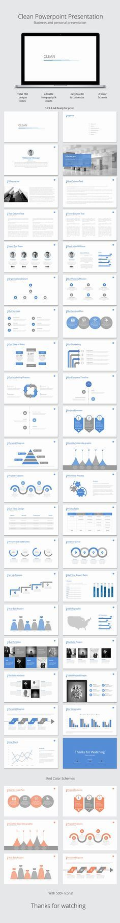 170 best layout images on pinterest presentation layout keynote buy clean powerpoint template by azindustry on graphicriver get a clean modern and efficient powerpoint presentation toneelgroepblik Gallery