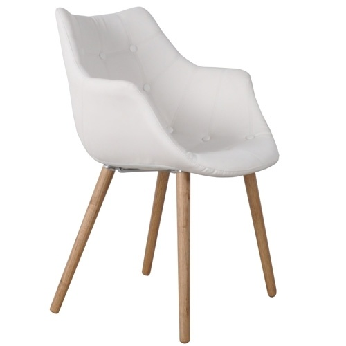 Witte kuipstoel van Zuiver #chair #white