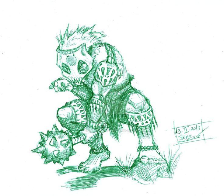 Green Ucka by sleepinartist on DeviantArt