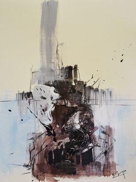 "Saatchi Art Artist michele petrelli; Painting, ""Abstract 0004"" #art"