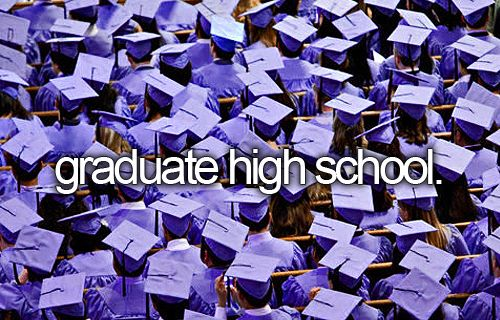 things to know about me 1 i would like to graduate before high school ends, that is my 1st major goal.