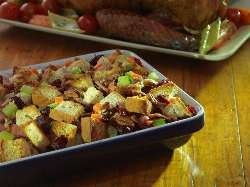 French-Canadian Cranberry Pecan Gluten-Free Stuffing—Recipe created by Kathy Smart of LiveTheSmartWay.com