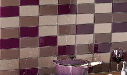 aubergine kitchen tiles and aubergine tiles contemporary lime and white 1386
