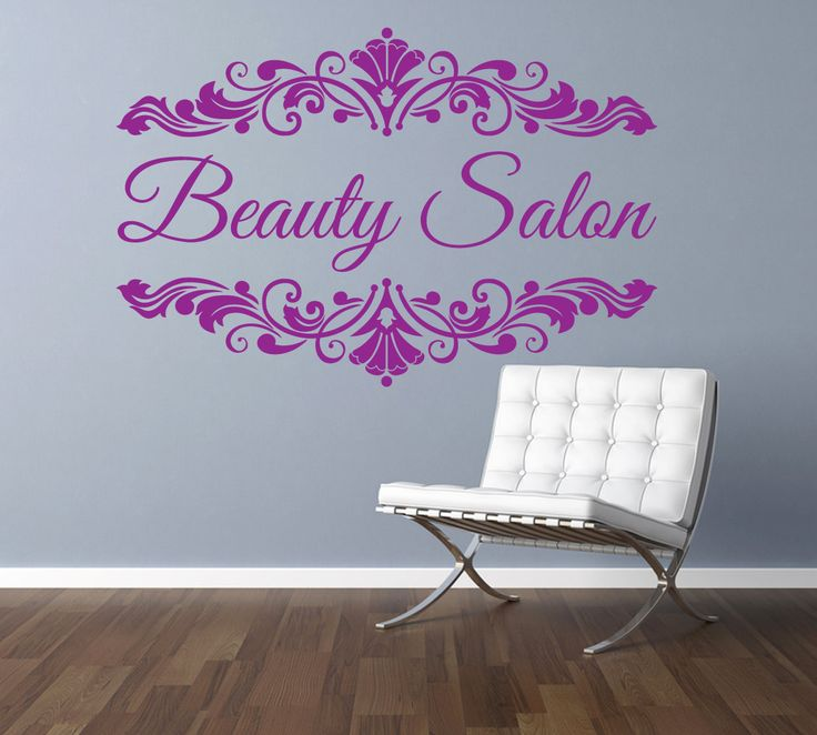 Best Wall Stickers  Decals Images On Pinterest - Monogram wall decals for business