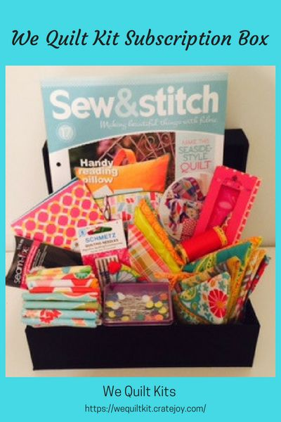 We Quilt Kits - Home