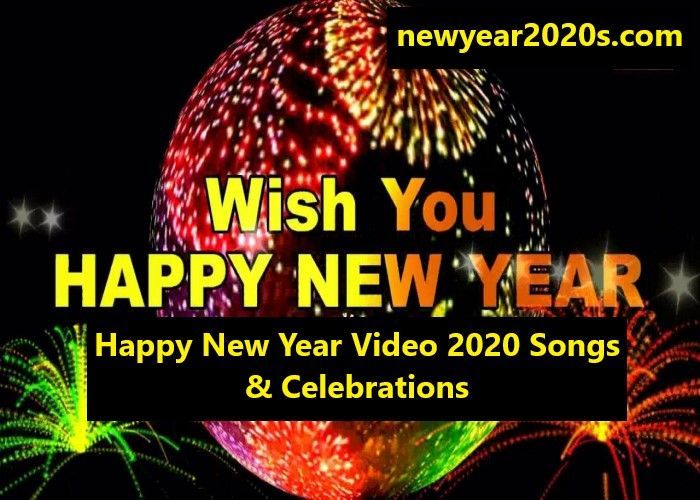 Happy New Year Video 2021 Songs Celebrations Happynewyear2021s New Year Gif Happy New Year Gif New Years Song