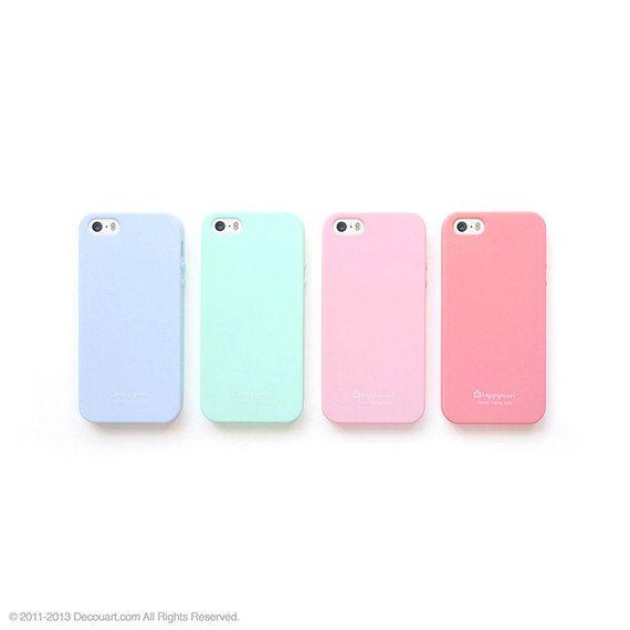 Soft pastel iPhone 5s case pastel iPhone 5 case matt by Decouart, $16.99