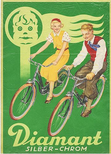 Diamant Silber-Chrom  Fahrräder