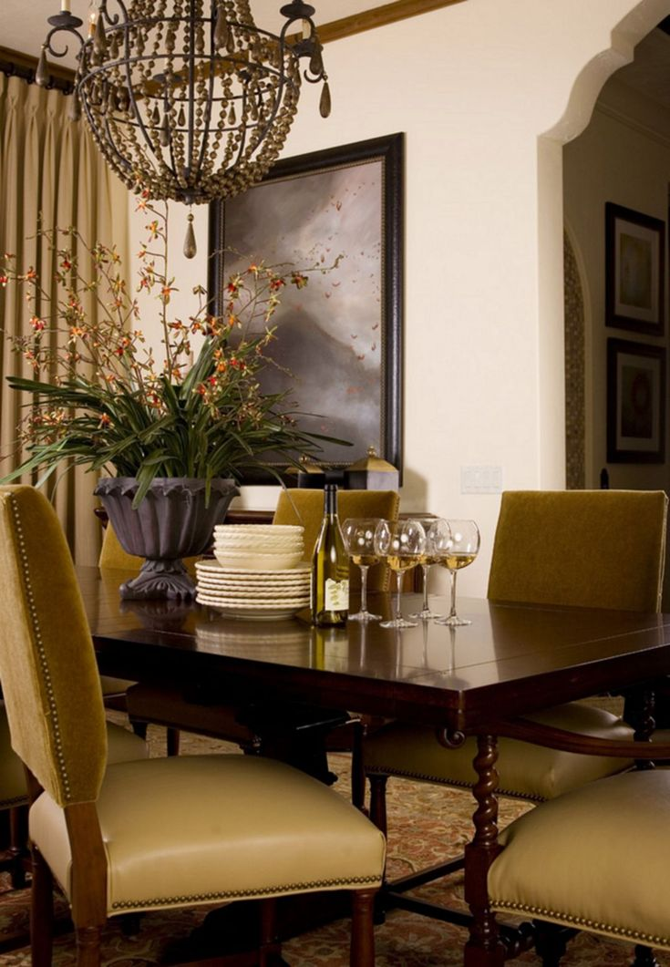 40+ Mediterranean Dining Room Design Ideas For Amazing Home Part 81