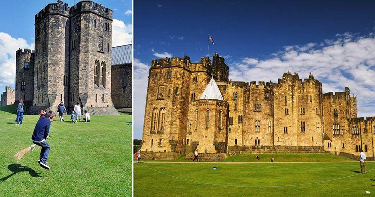 Il castello di Alnwick si trova nell'omonima città della regione del Northumberland, in Inghilterra, ed èuno dei castelli inglesi abitati da più tempo, oltre ad essere il secondo, per dimensioni, abi