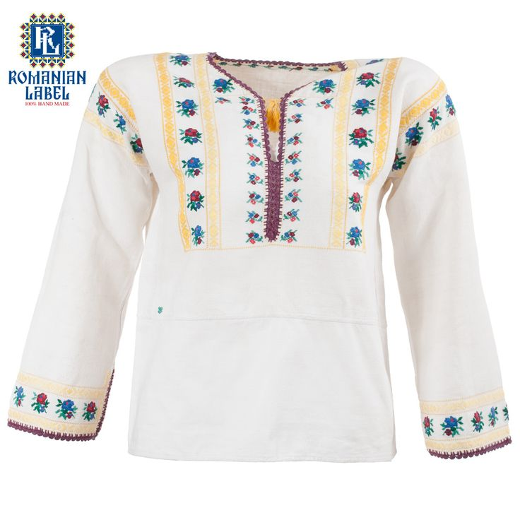 $147 Take in the beauty of a 60 years old vintage traditional blouse and feel the natural materials caressing your body and soul.
