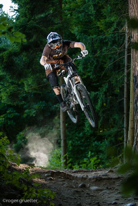 "♂ Forest mountain bike outdoor sport ""Gurten"" by roger gruetter"
