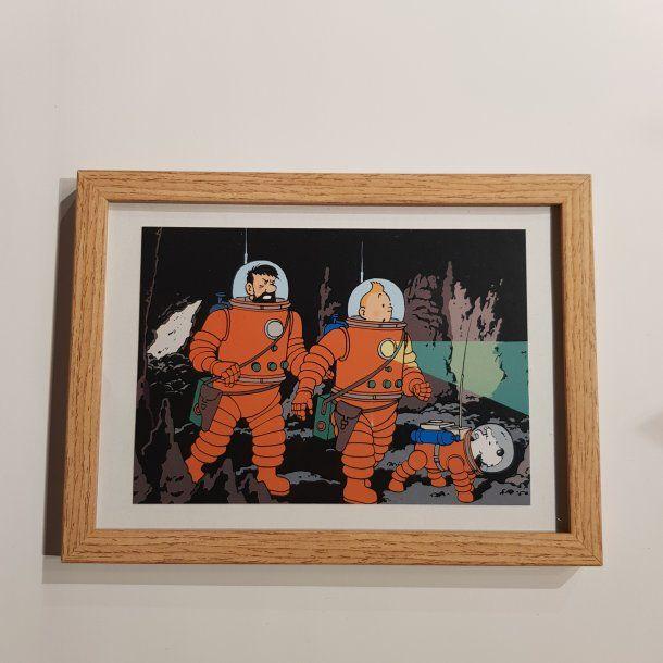 Tintin Billede I Ramme I Rumdragt Billeder Thomsons I 2020 Tintin Billeder Billede