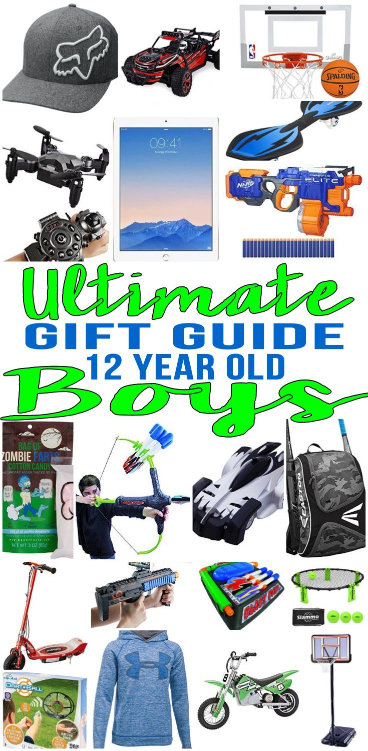 Best Gifts For 12 Year Old Boys | Gift Guides | Gifts, Christmas ...