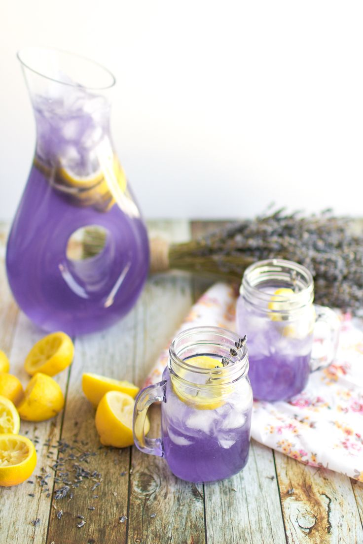 how to make a purple non alcoholic drink