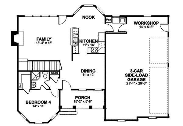 Hansen Southern Country Home Plan 013D-0047 | House Plans and More