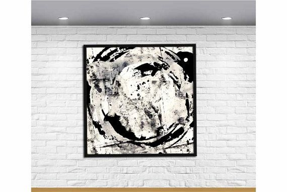 Black and White Art Black and White Wall Art by MotivationalTypo
