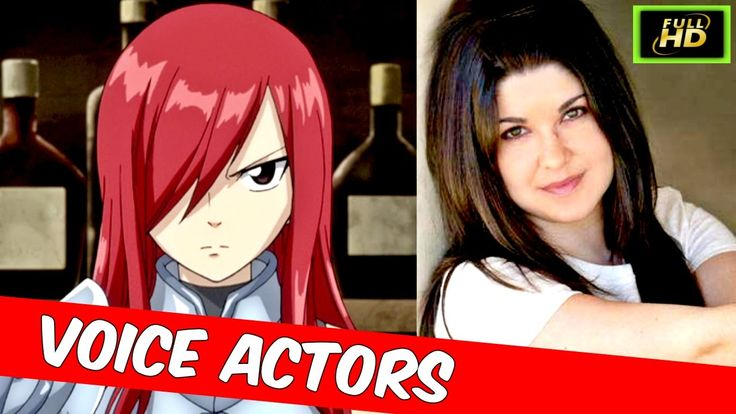 Fairy Tail Voice Actors - Fairy Tail Cast - Fairy Tail Characters 2017 -...
