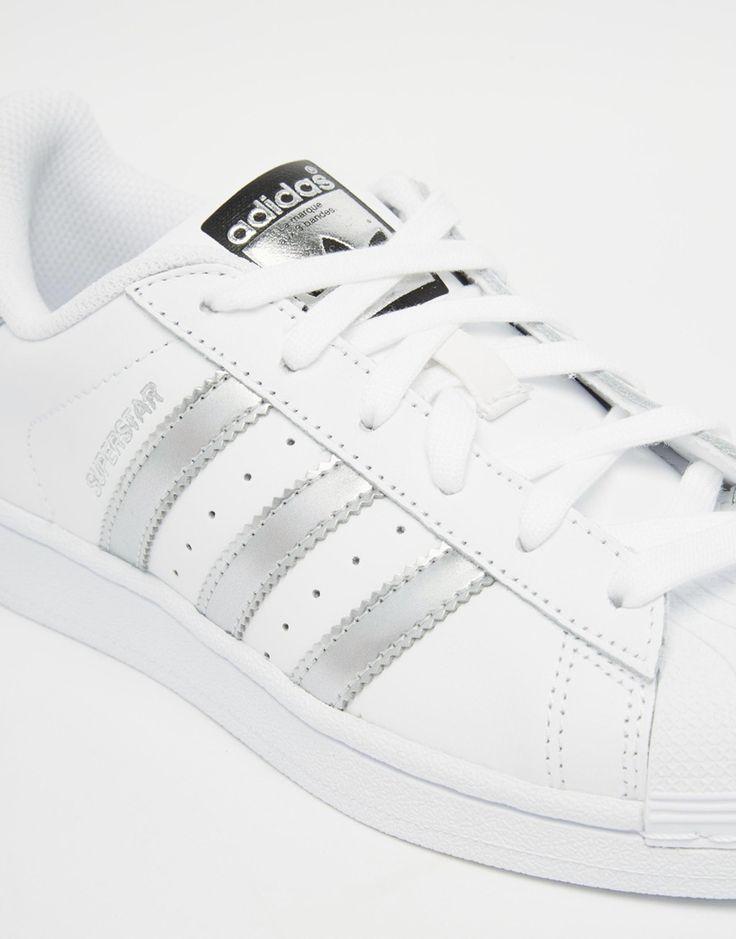 zamówienie online oficjalne zdjęcia klasyczny styl adidas superstar all white asos