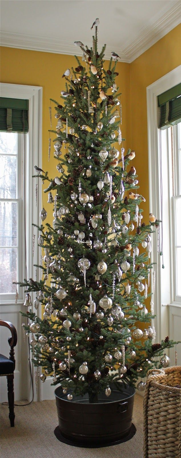 Where To Put The Christmas Tree the 25+ best skinny christmas tree ideas on pinterest | white