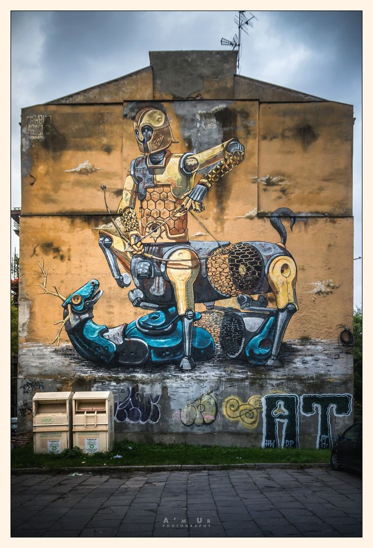 Warsaw Murals, Mokotów - fot. Arek Uriasz