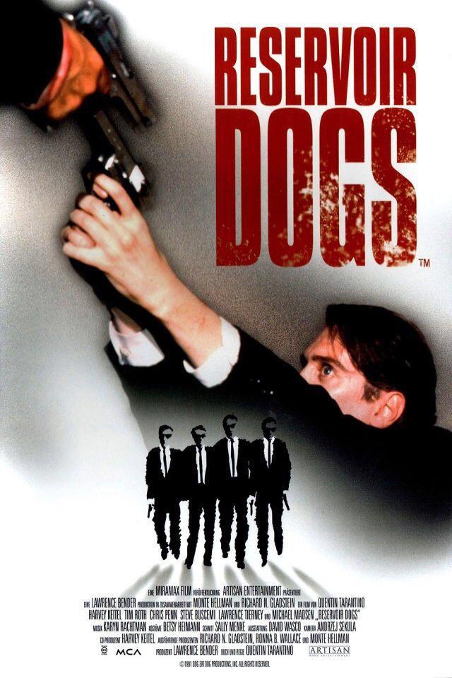 reservoir dogs, quentin tarantino, 1992