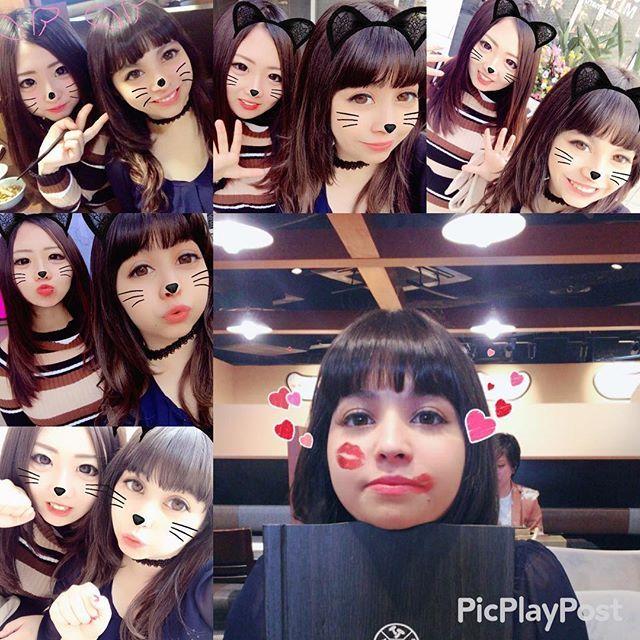 今日何故か顔が幼い私。。 まりあんぬとしゃぶしゃぶ😋❤ 起きれないとか言って今日会うまでに 4回バックれられてやっと会えた😅 まりあの適当加減と虚言にはいつもムカついてます(笑)  #渋谷#しゃぶしゃぶ#ランチ#肉#肉食系女子#ぽっちゃり#ぷに女#大好き#友達#tokyo#shibuya#Japan#japanesefood#food#lunch#shabushabu#yum#yummy#happy#love#friend#peru#snow#like#followme