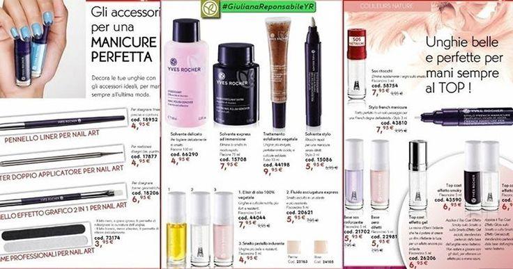 💚 Unghie al TOP💚 Accessori Professionali per la Tua Manicure, per Mani💅 Belle e Perfette. #YvesRocheritalia #GiulianaResponsabileYR