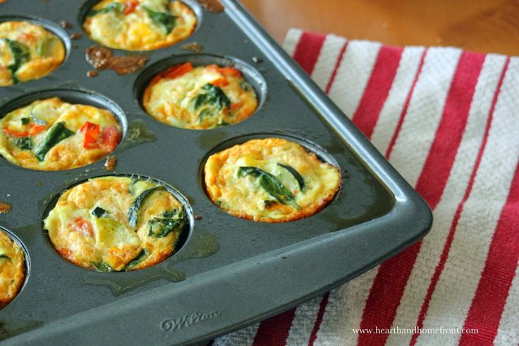 Hearth and Homefront: Muffin Tin Omelets