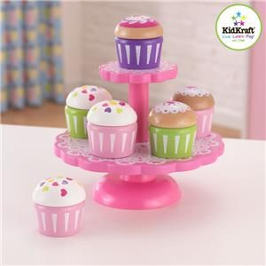 KidKraft Kakefat med 6 cupcakes (101-63172)