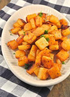 Kruidige aardappeltjes met zelfgemaakte cajun kruiden
