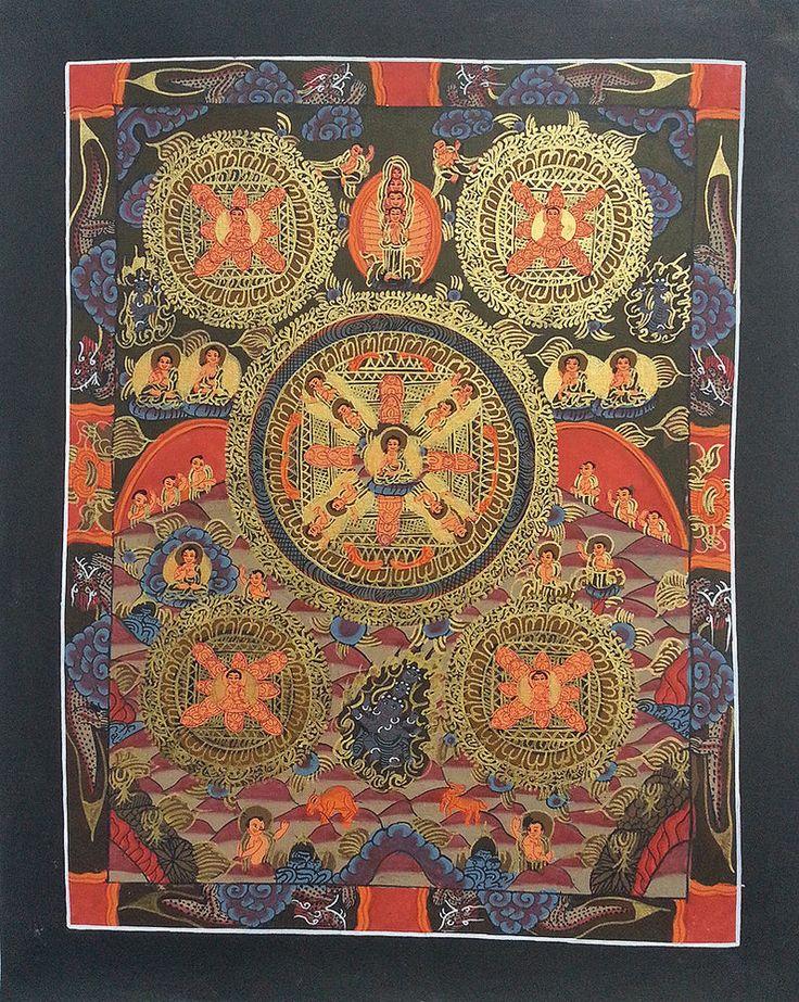 Buddha Mandala Thangka Art Sale b103