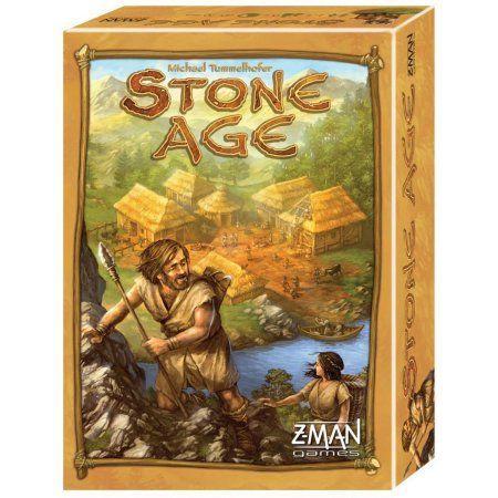 Z-Man Games Stone Age Board Game